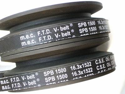 M.E.C. V-BELT OIL STAT SP-FTD